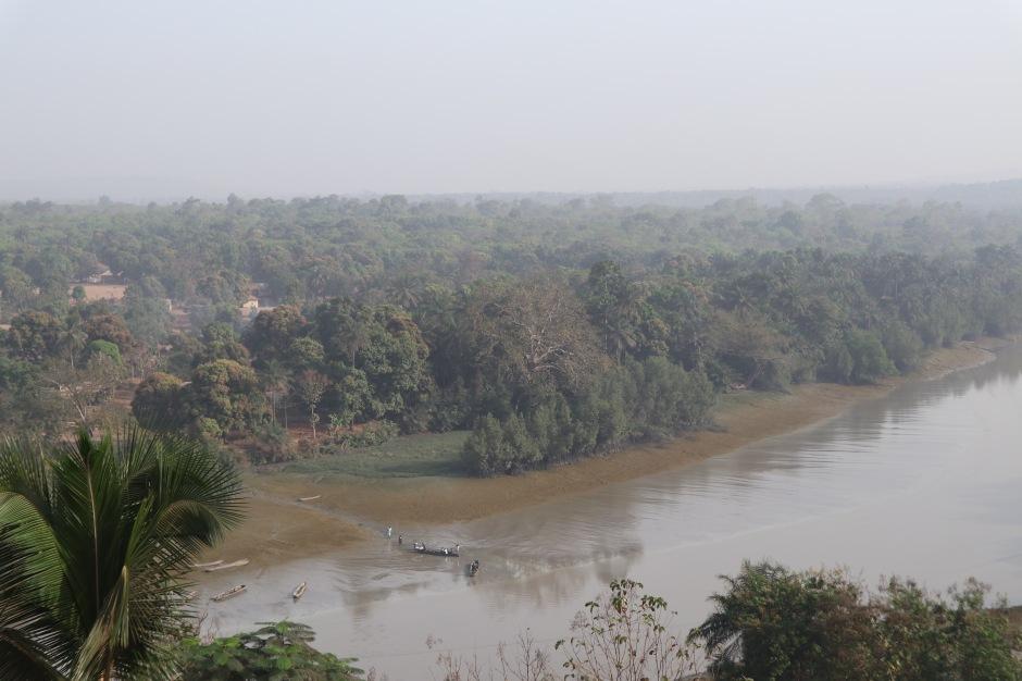 Vue sur le Rio Nunez