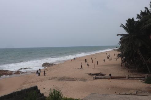 Une magnifique plage ghanéenne