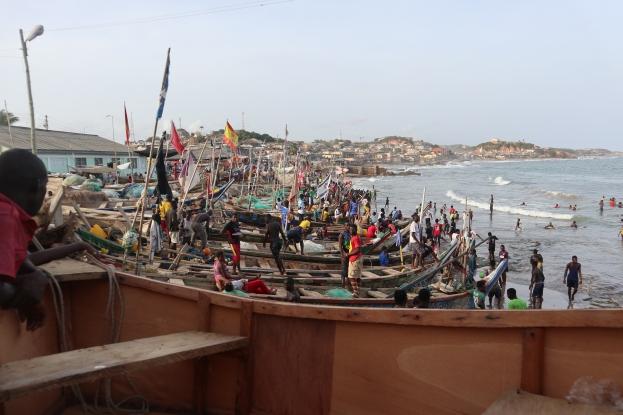 Le Village des pêcheurs de Cape Coast