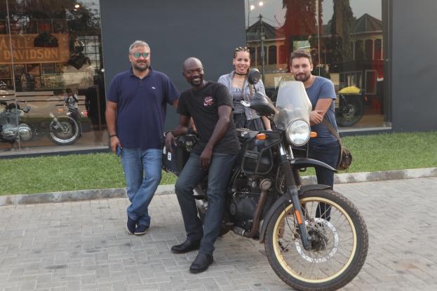 L'équipe du Harley Davidson Accra